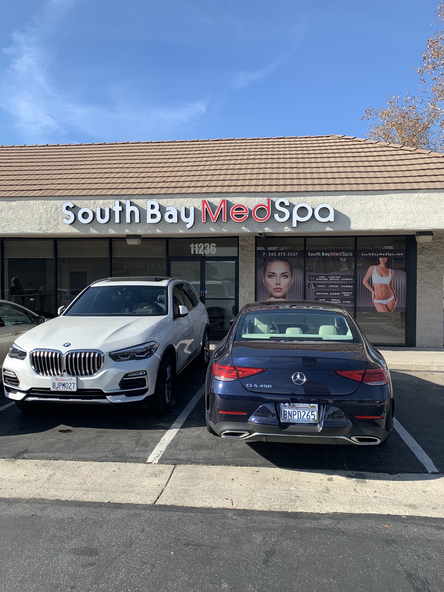 south bay med spa- whittier coolsculpting botox laser hair removal