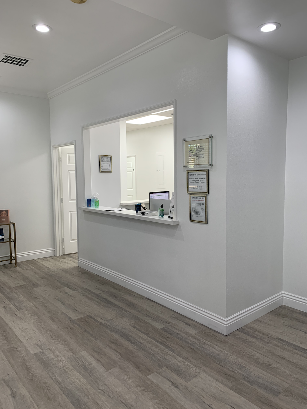 best whittier medical beauty spa - waiting room